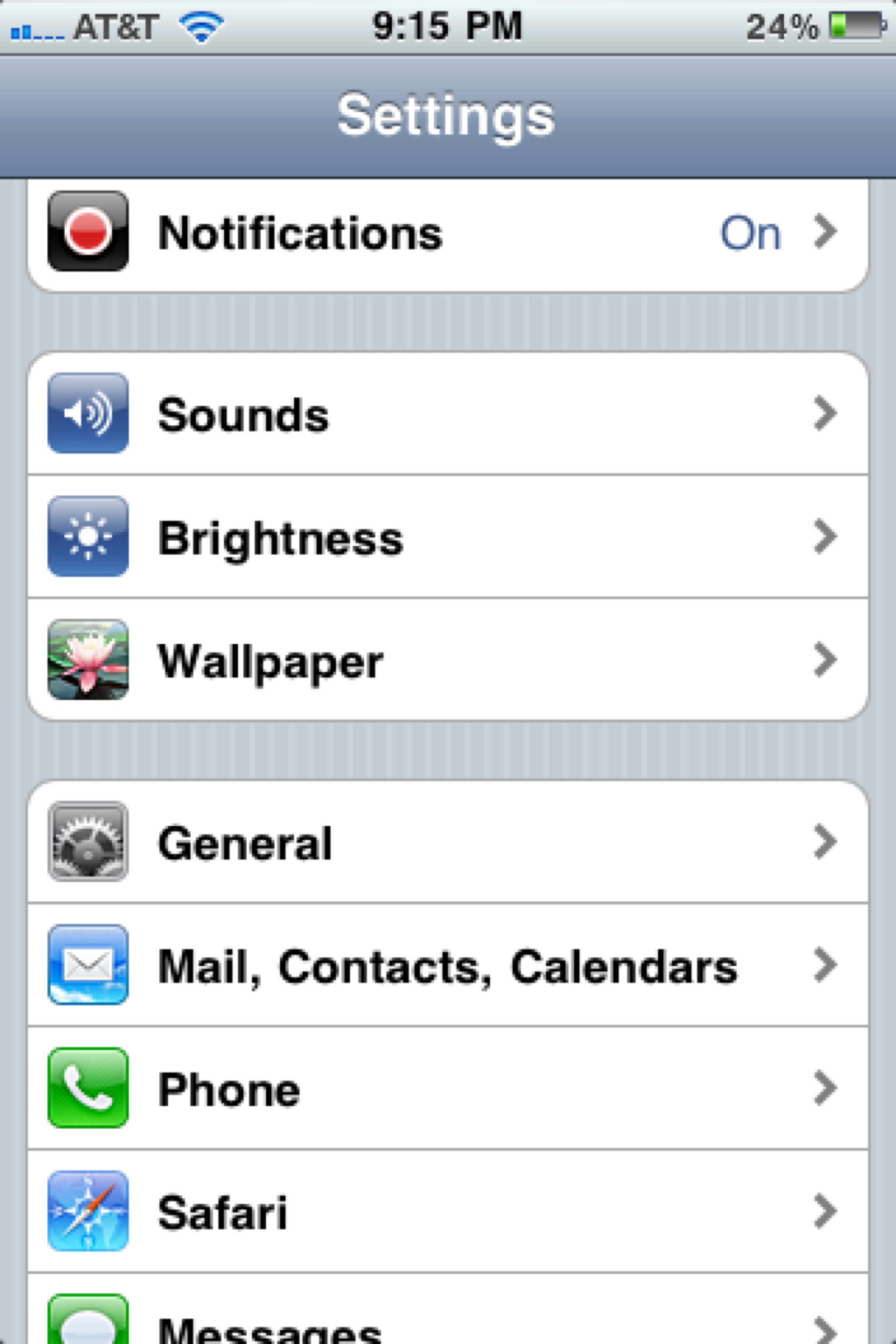 Syncing google contacts on  iOS