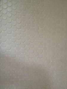 Penny tile detail