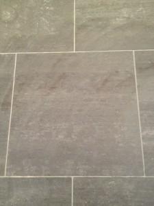 Floor tile closeup