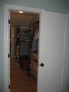Matt's closet