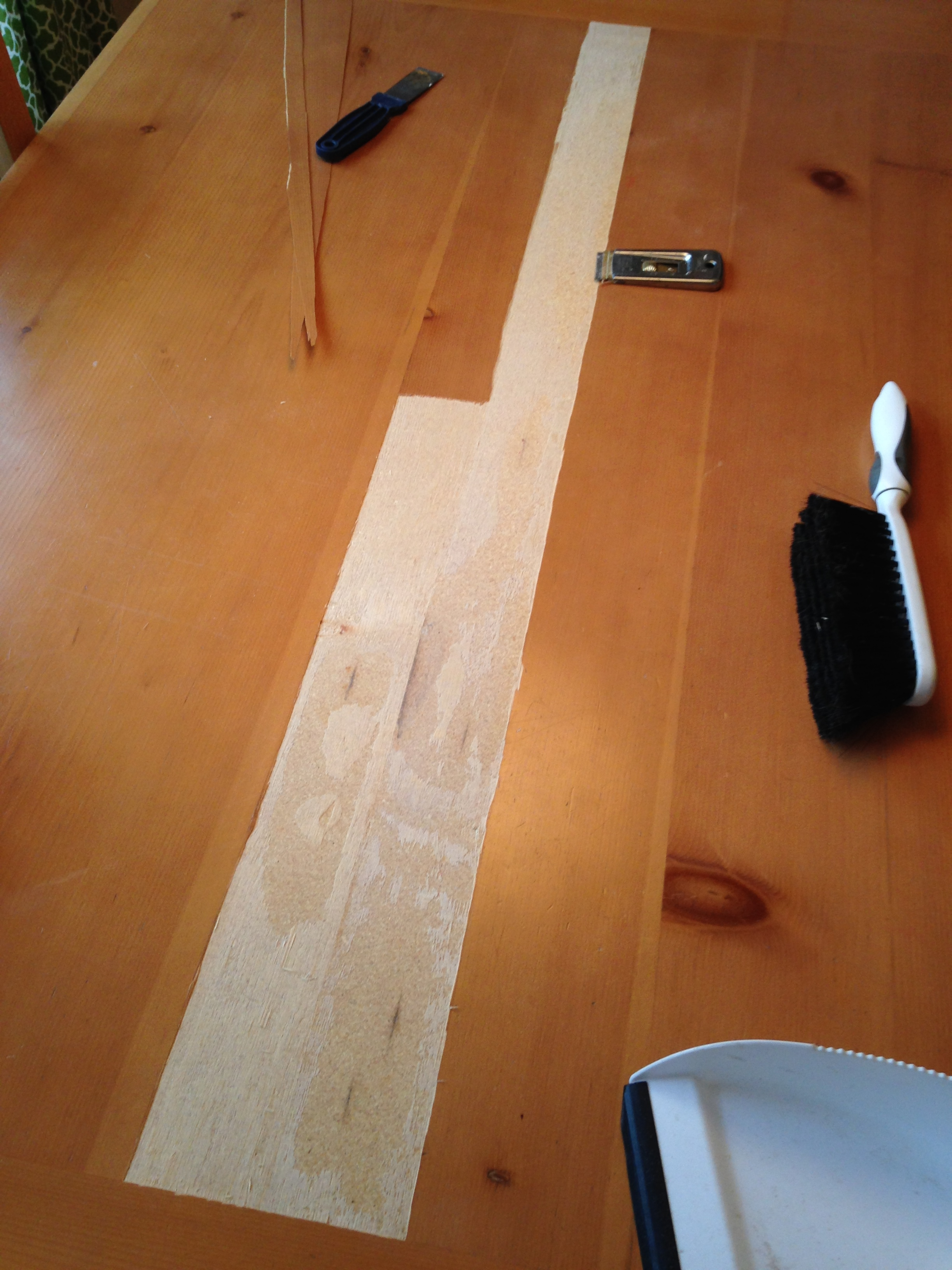 Kitchen table top replacement