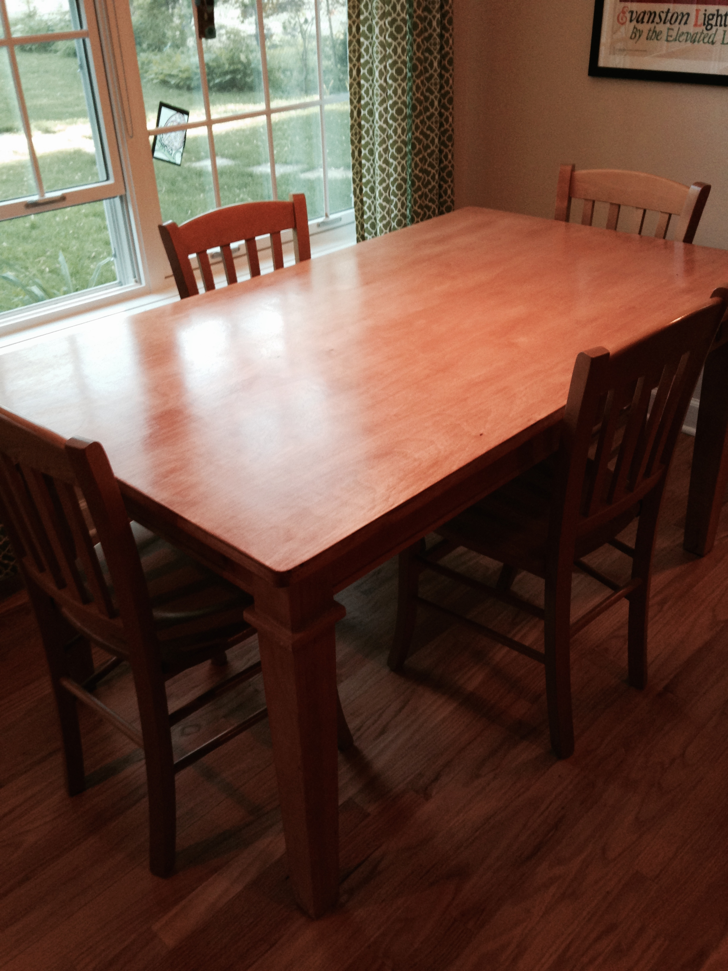 Kitchen Table Top : Kitchen table top replacement wrighters